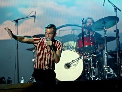 The Killers live in Singapore