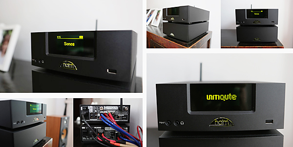 A look at Naim's UnitQute and NAp100